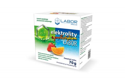 Electrolytes with probiotic Labor