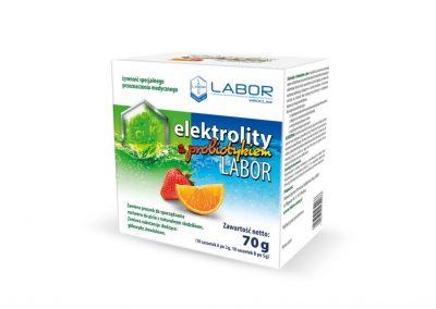 Elektrolity z probiotykiem Labor