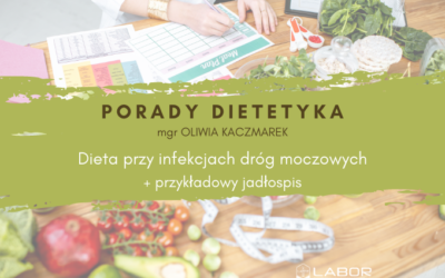 Diet for urinary infections + ONE – DAY FOOD 1850 kcal