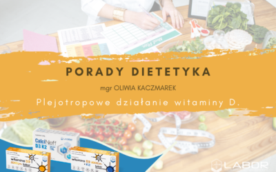 Pleiotropic effects of vitamin D