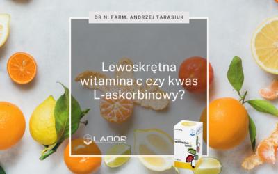 Left-handed vitamina C or L-ascorbic acid?