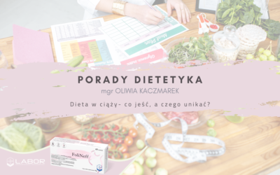 Diet in pregnancy – what to eat and what to avoid?